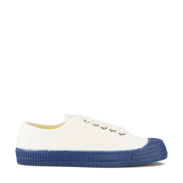 Boys White & Blue Shoes