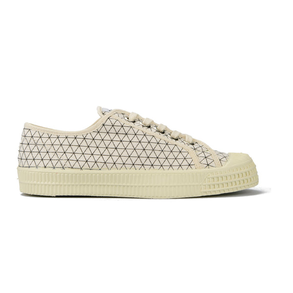 Girls White Triangle Shoes