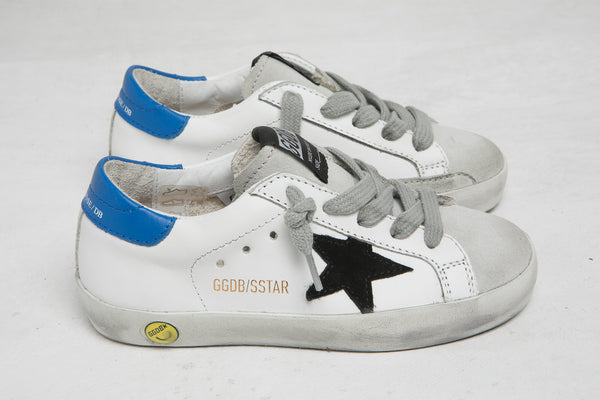 Baby Boys & Girls White Leather Superstar Shoes