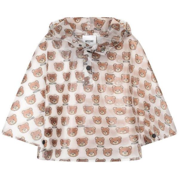 Boys & Girls Transparent Toy Raincoat