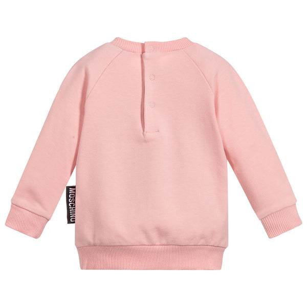 Baby Boys & Girls Pink Teddy Sweatshirt