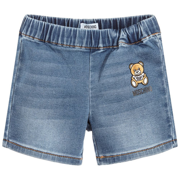 Baby Boys & Girls Light Blue Denim Shorts