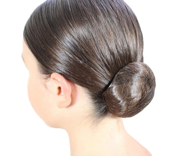 Girls Black Chignon