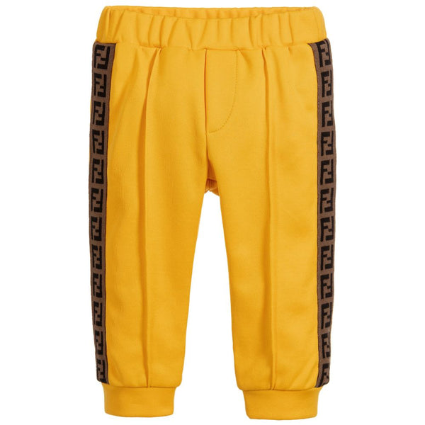Baby Boys Yellow Trousers