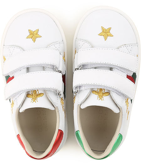 Baby Boys & girls White Leather Shoes