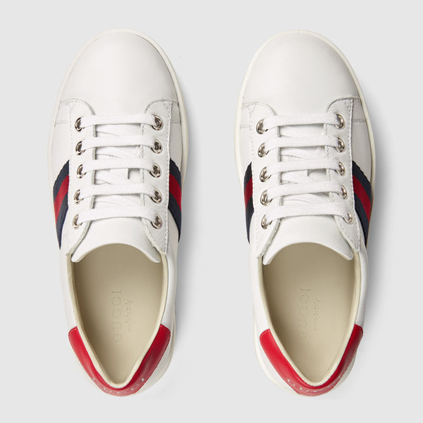 Girls White Sports Shoes