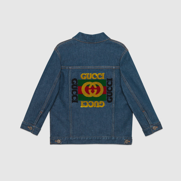 Boys Blue Cowboy Cotton Jacket