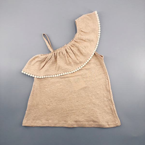 Girls Beige Top