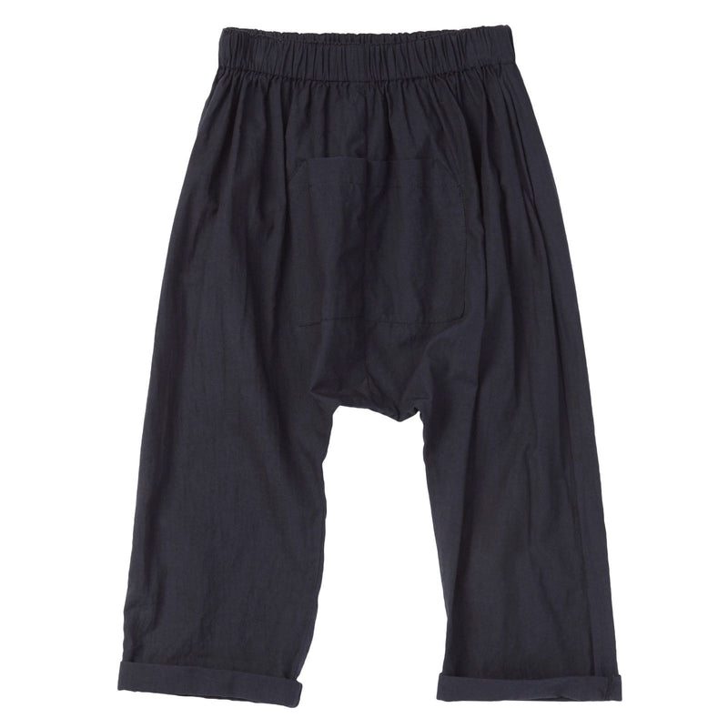 Boys Navy Blue Cotton Jersey Trousers - CÉMAROSE | Children's Fashion Store