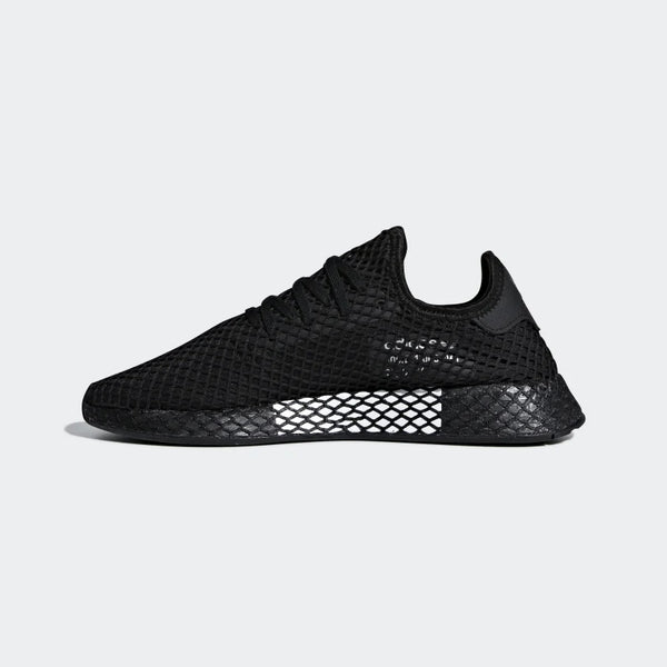 "Boys Black ""DEERUPT RUNNER"" Shoes"