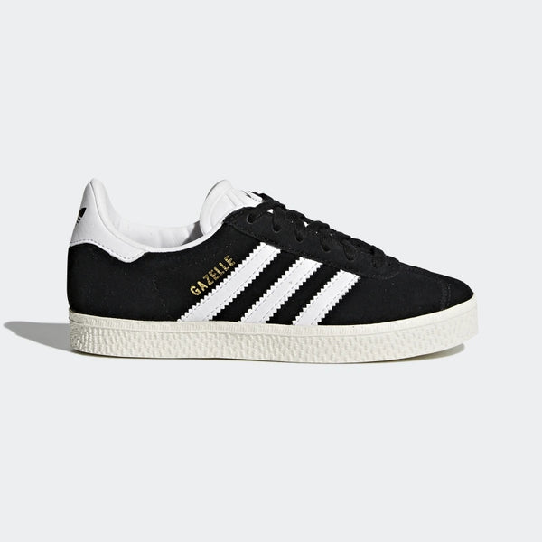 "Boys Black & White  ""GAZELLE"" Shoes"