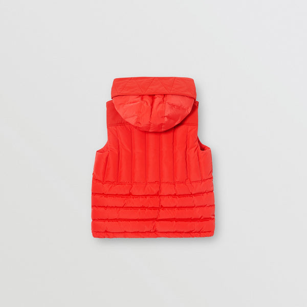 Boys Bright Red Gilet