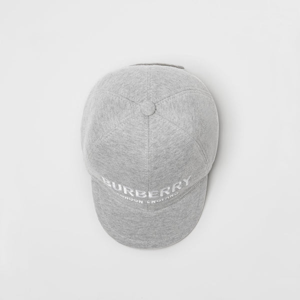 Boys & Girls Light Grey Cotton Hat