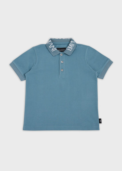 Boys Light Green Polo Shirt