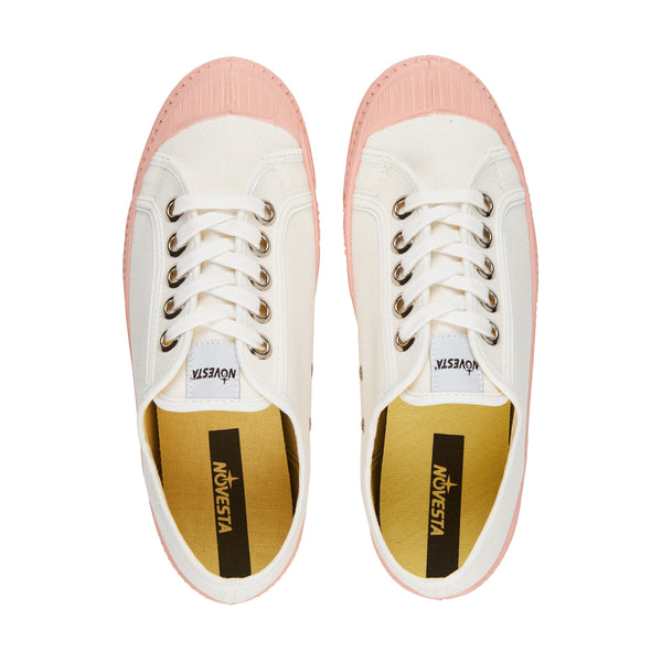 Girls White & Pink Shoes