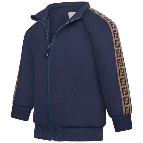 Baby Boys Navy Logo Sweatshirt