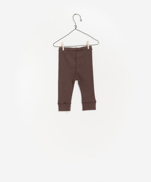 Baby Boys Brown Cotton Trousers
