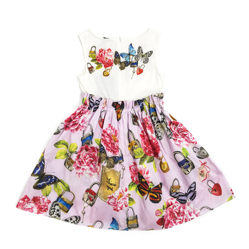 Girls Secret Printed Cotton Dress