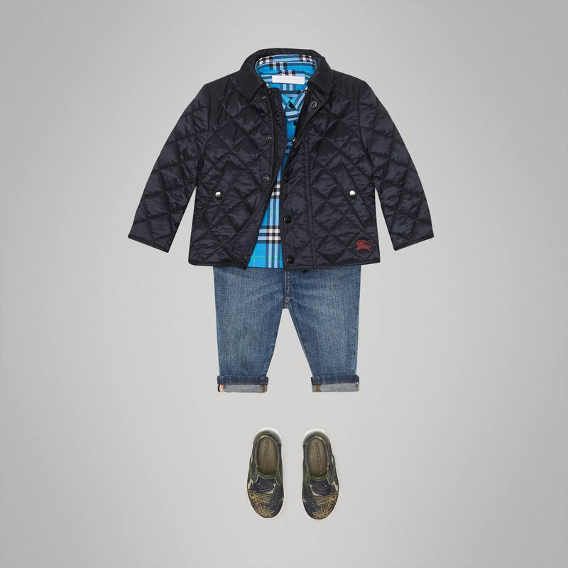 Baby Boys Ink Coat