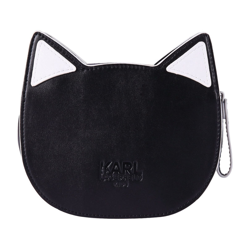 Girls Black Cat Head Style Bag - CÉMAROSE | Children's Fashion Store - 4