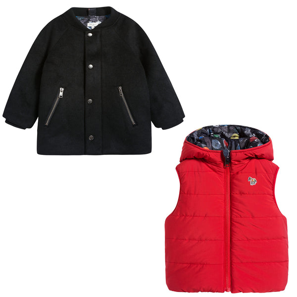 Boys Red & Black Sets