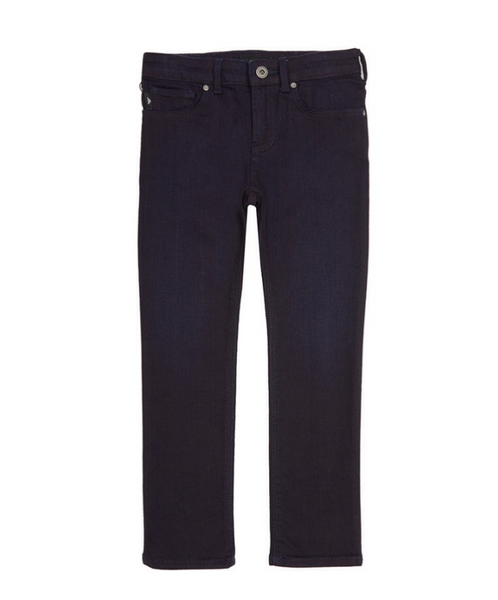 Boys Navy Denim Blue Trousers