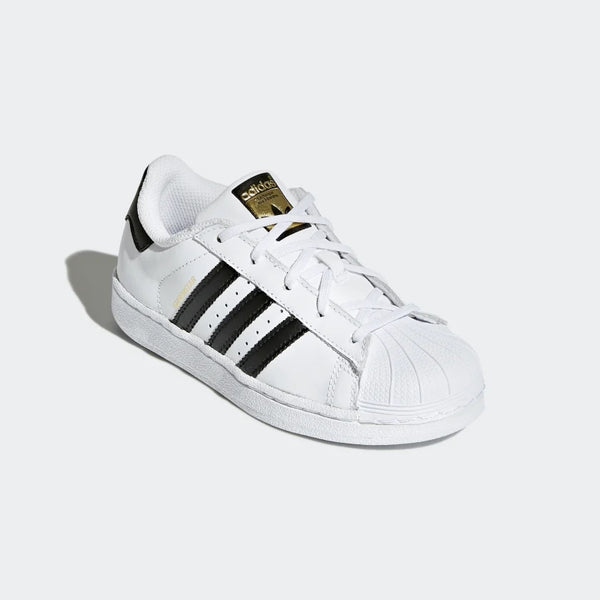 "Boys & Girls White ""SUPERSTAR"" Shoes"