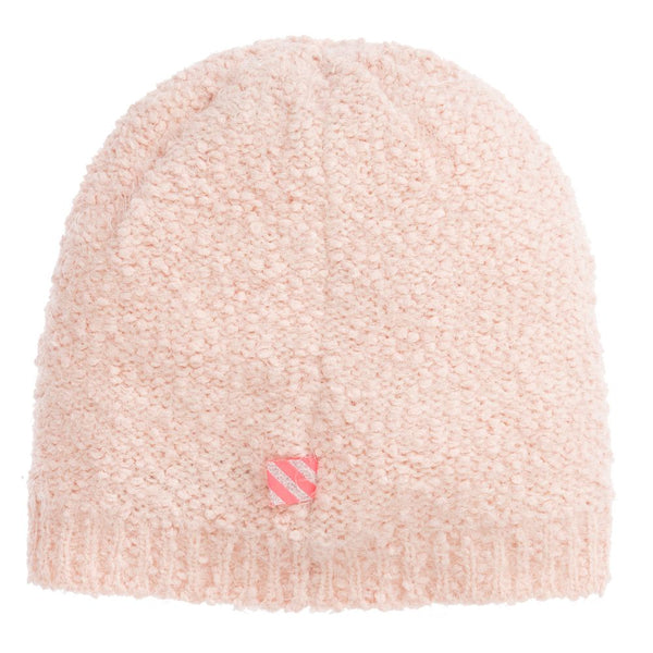 Girls Pink Knitted Hat & Snood Set
