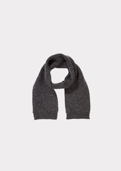 Baby Boy & Girls Grey Cashmere Scarf
