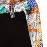 Baby Boys Black Trousers With Multicolor Elasticated Waistband - CÉMAROSE | Children's Fashion Store - 3