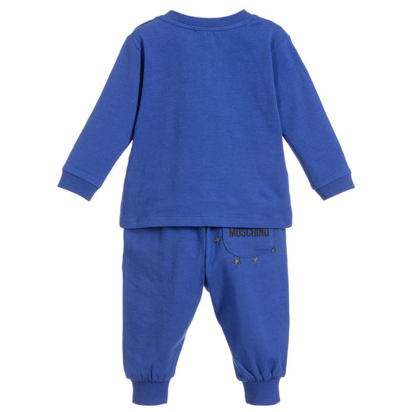 Baby Boys & Girls Blue Cotton Set
