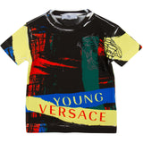 Boys Multicolor Printed Cotton Jersey T-Shirt - CÉMAROSE | Children's Fashion Store