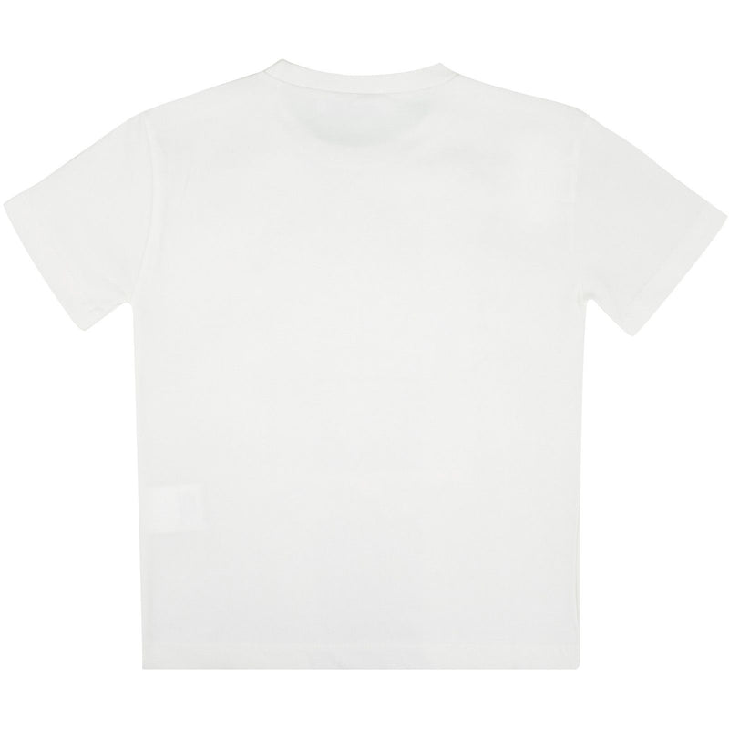 Boys Ivory Medusa Frame Printed Cotton Jersey T-Shirt - CÉMAROSE | Children's Fashion Store - 2