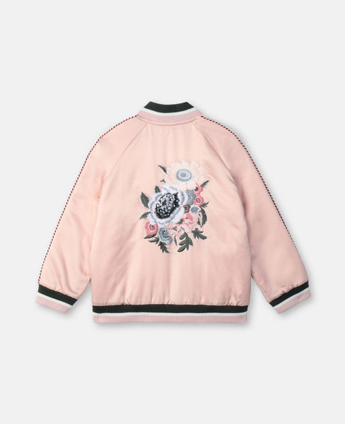 Girls Pink Zip Jacket