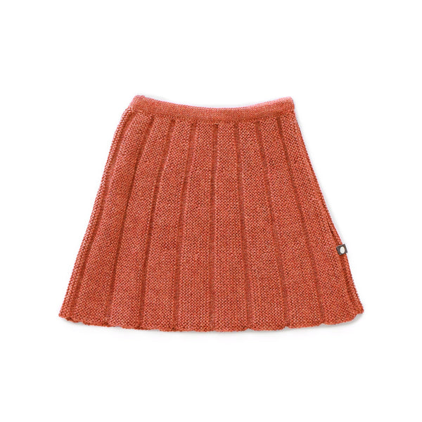 Girls Apricot Alpaca Skirt