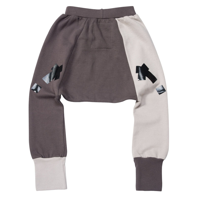 Boys&Girls Dark Grey Trouses With Black X Printed - CÉMAROSE | Children's Fashion Store - 2
