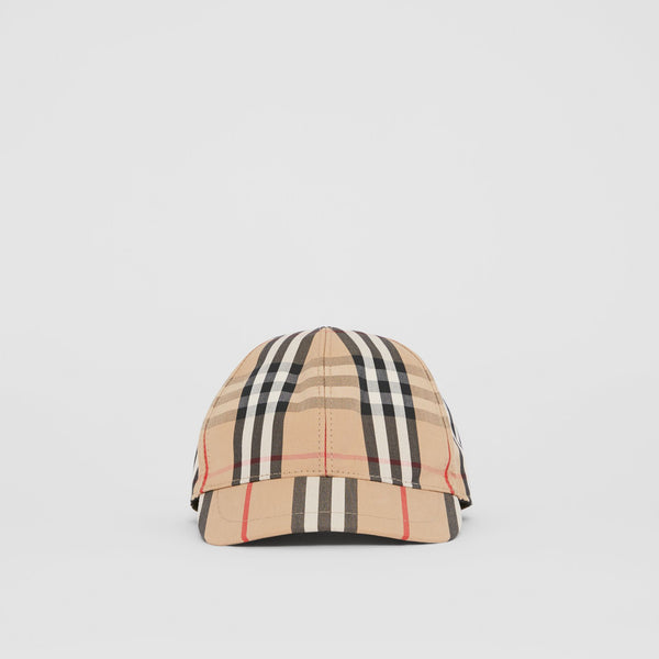 Boys & Girls Archive Beige Cotton Hat