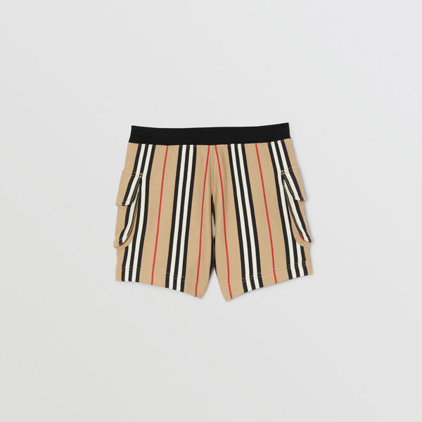 Girls Archive Beige Cotton Short
