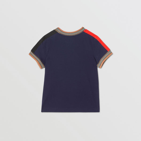 Boys Navy Cotton T-shirt