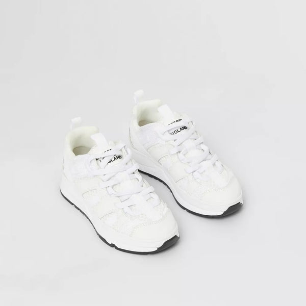 Boys & Girls White Shoes