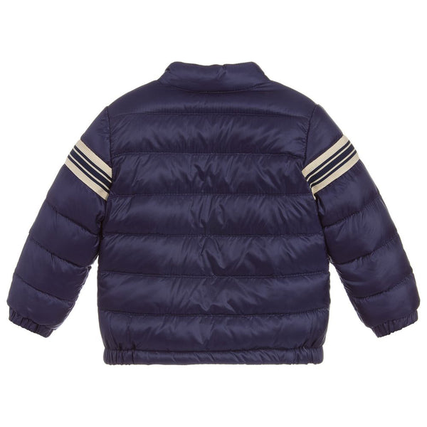 Baby Boys Dark Blue Padded Down Jacket