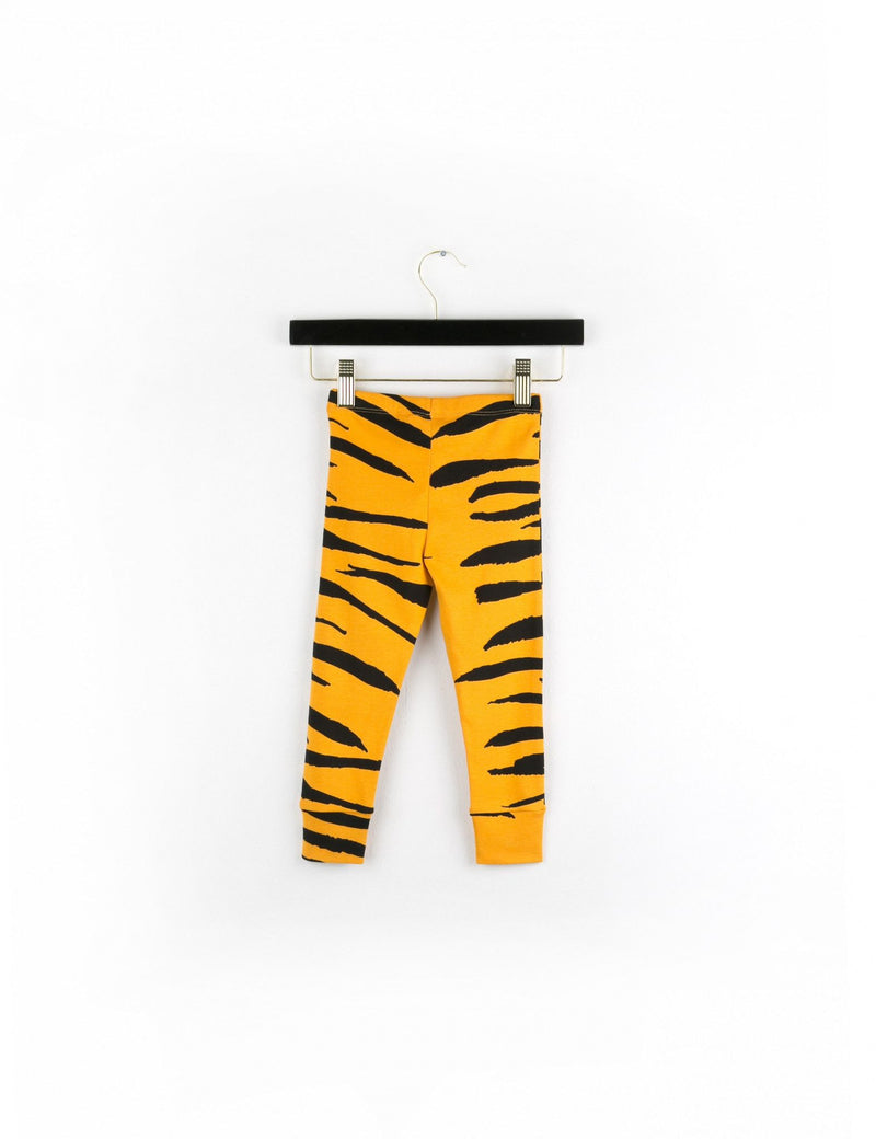 Tiger Orange Stripes Leggings - CÉMAROSE | Children's Fashion Store - 2