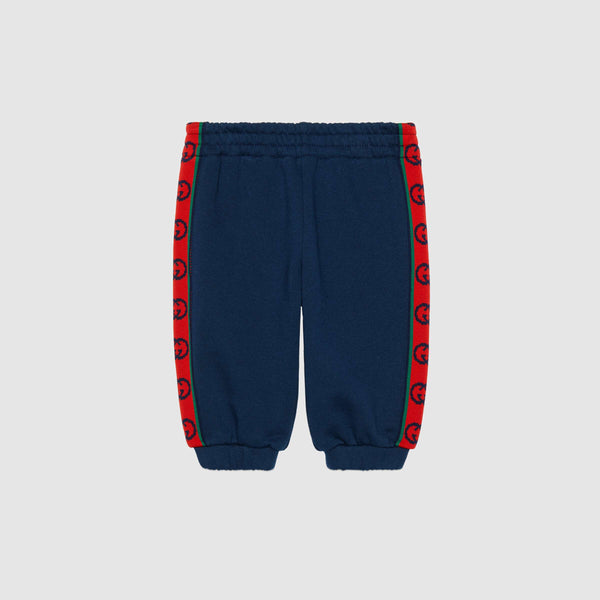 Baby Boys Blue Cotton Trousers
