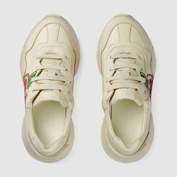 Boys & Girls Ivory Leather Shoes