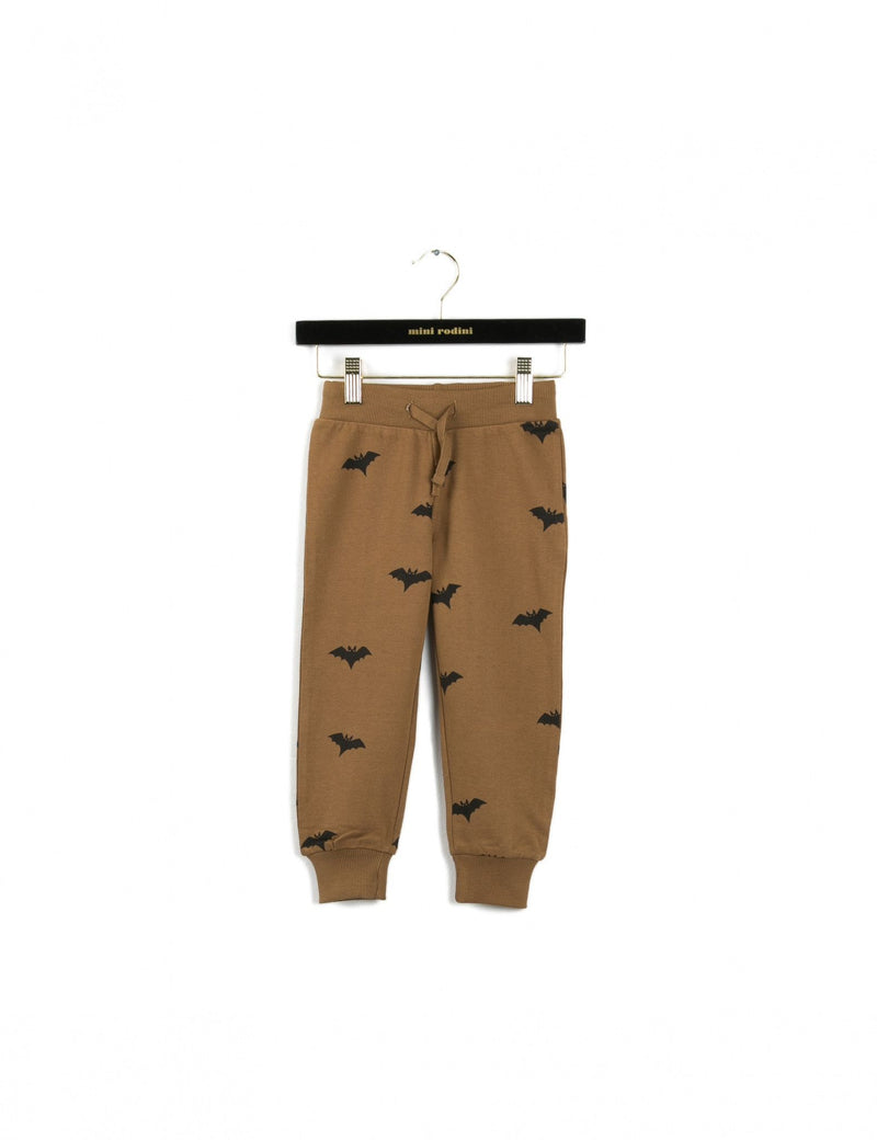 Boys&Girls Bats Brown Sweatpants - CÉMAROSE | Children's Fashion Store