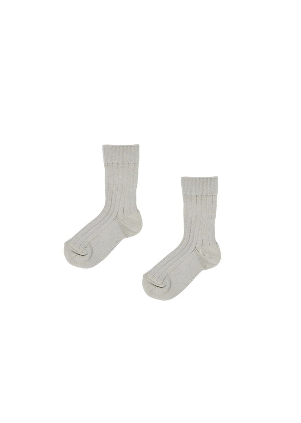 Baby Boys & Girls Grey Cotton Socks