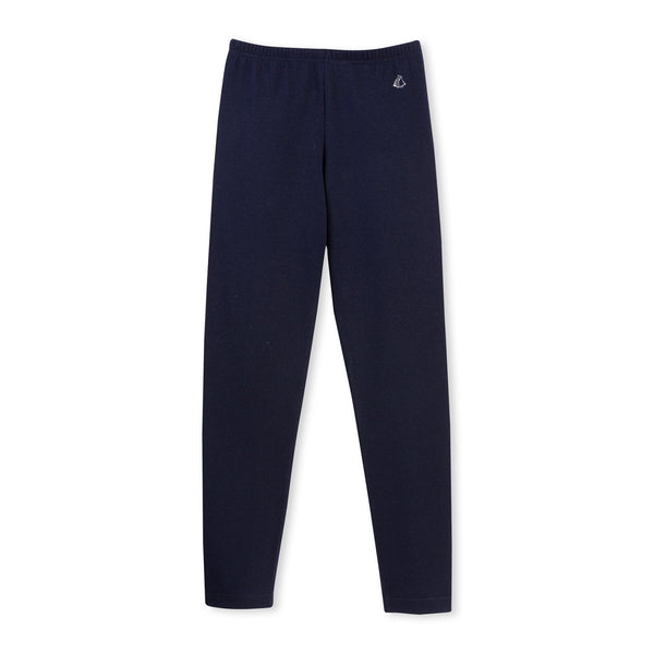 Girls Navy Blue Leggings