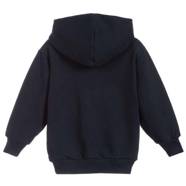Boys & Girls Grey Hooded Sweatshirt