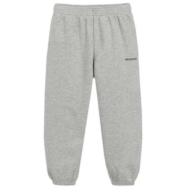 Boys & Girls Grey Cotton Trousers