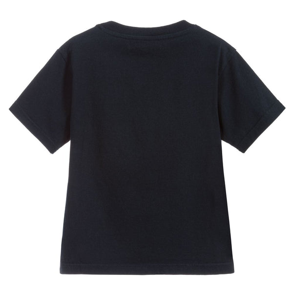 Boys & Girls Navy Cotton T-shirt